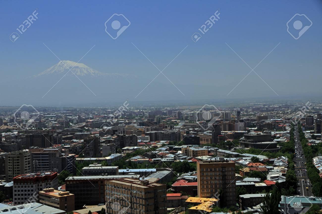 Eriwan Die Hauptstadt Und Grosste Stadt Von Armenien Lizenzfreie Fotos Bilder Und Stock Fotografie Image 89622882