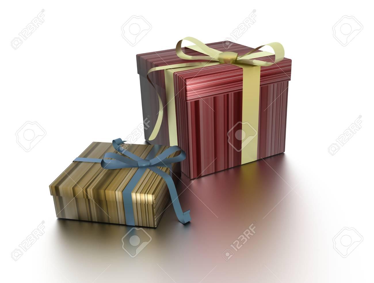 Christmas gifts Stock Photo - 5940113