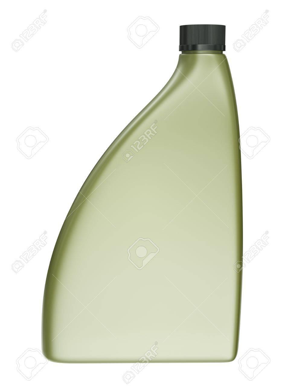 Blank engine oil bottle isolated on white background. 3D render Stock Photo - 12727276