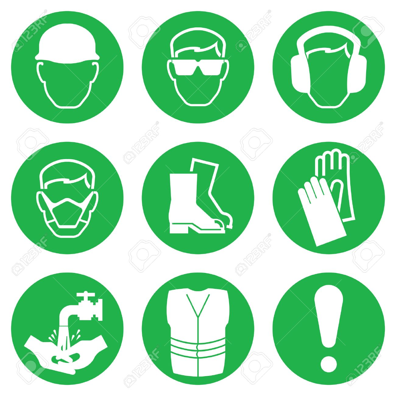 309531 Safety Signs Stock Vector Illustration And Royalty Free