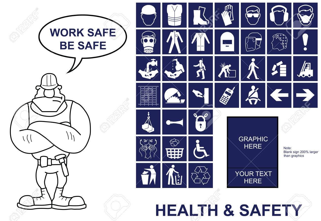 Machen Sie Ihre Eigene Gesundheit Und Sicherheit Schild Mit Kopie ...