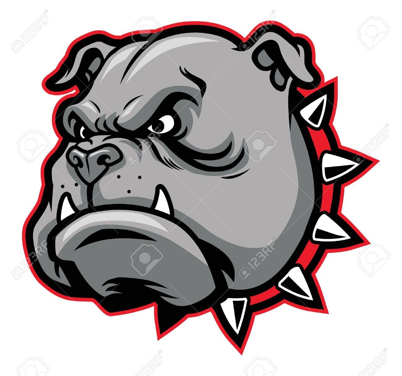 bulldog mascot - 19867553