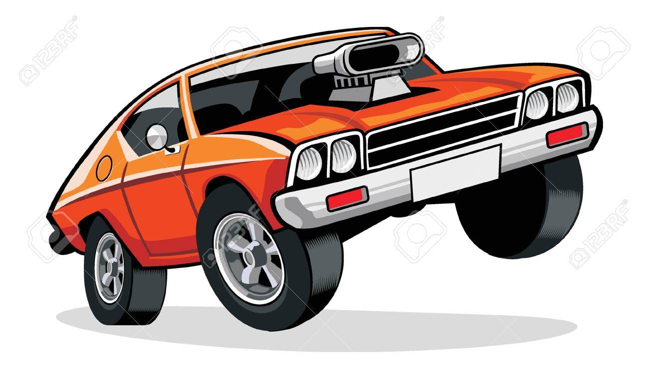 Muscle car - 59378859