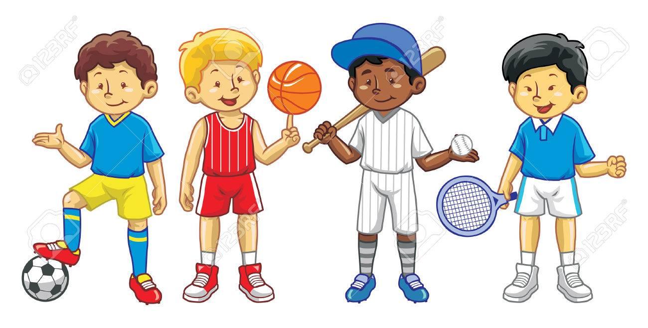 kids in varios sport gear - 59378955
