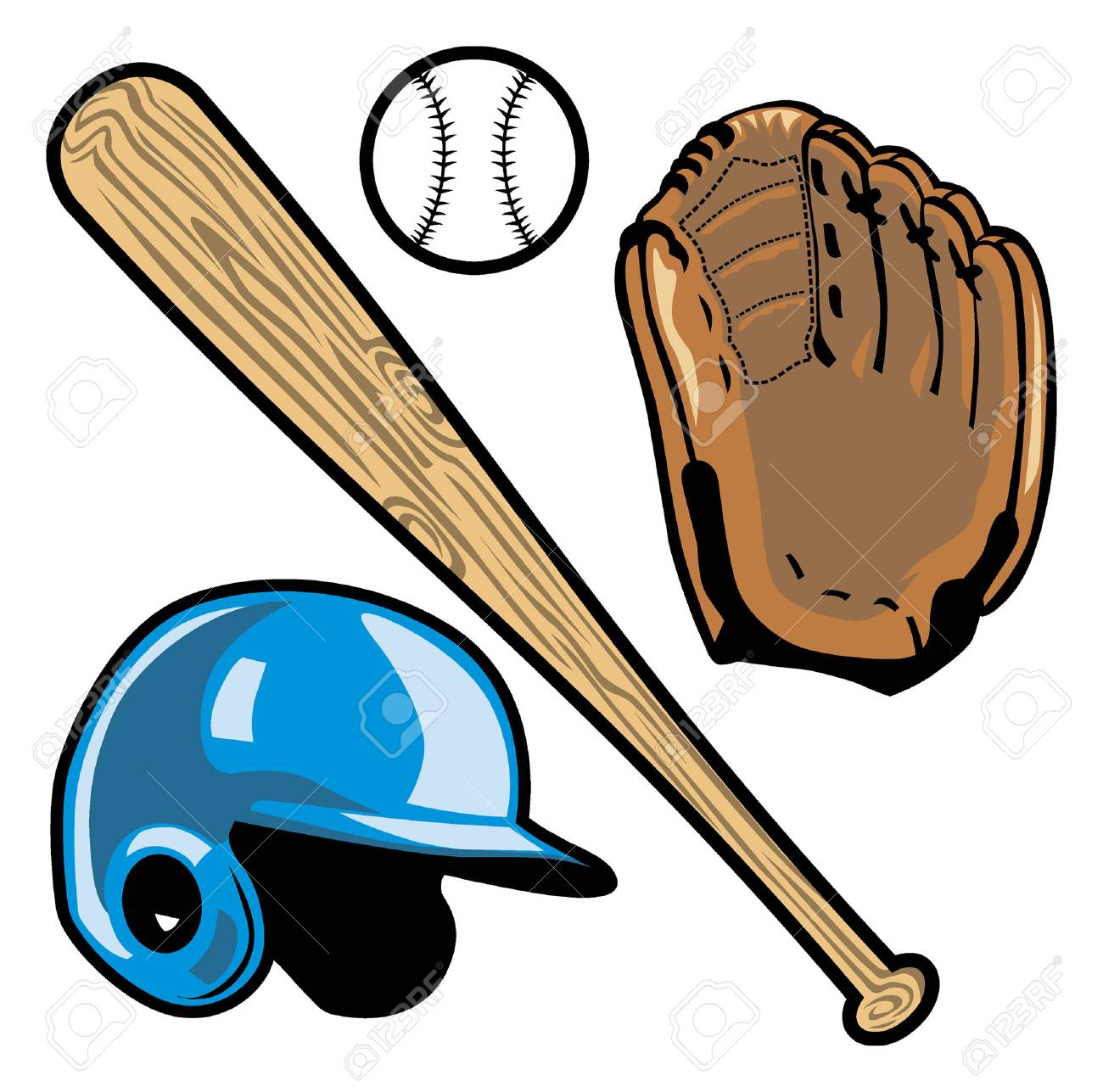 objects of baseball - 92780395