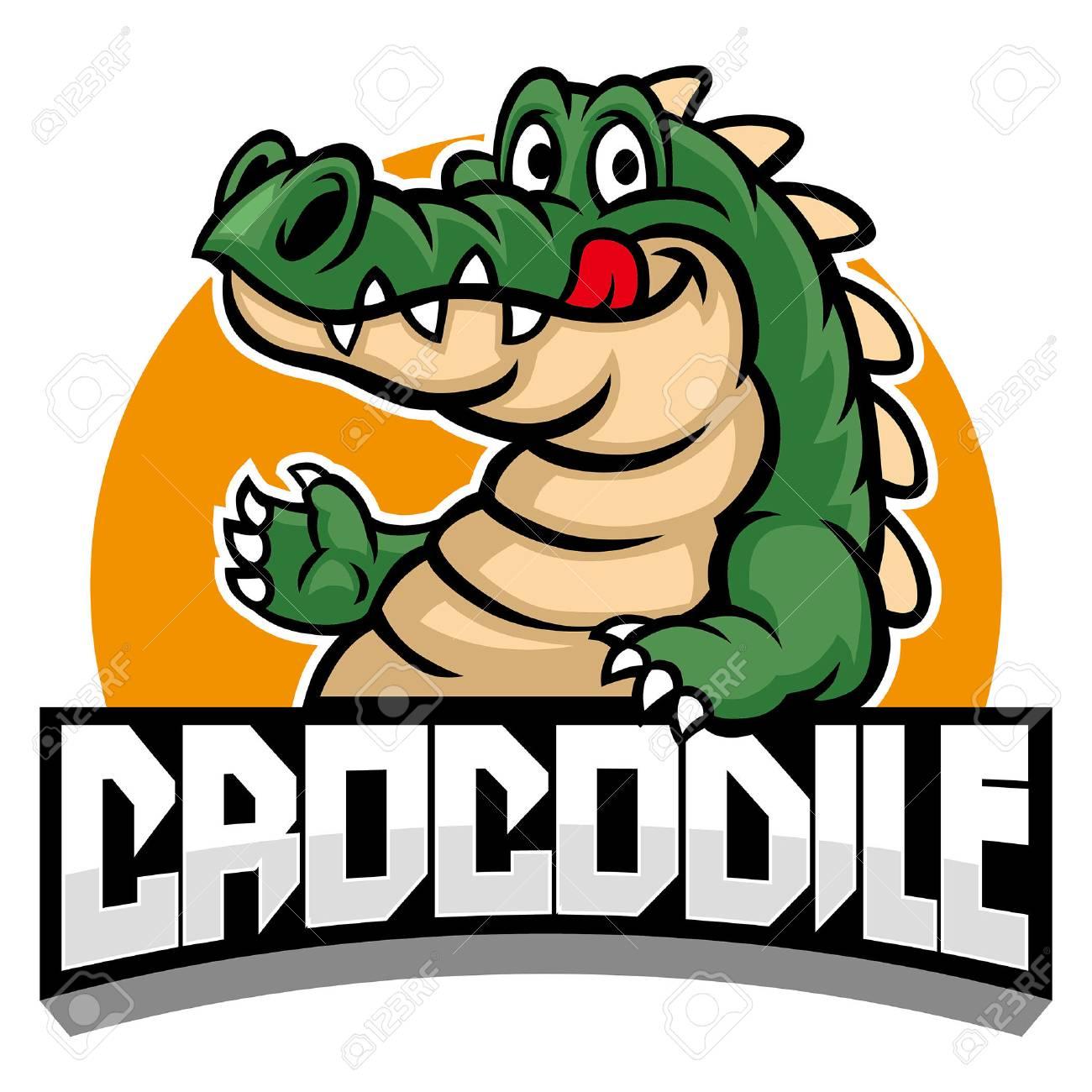 crocodile mascot - 117123039
