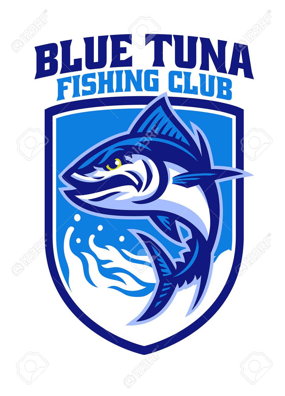 Tuna fishing mascot - 169099740