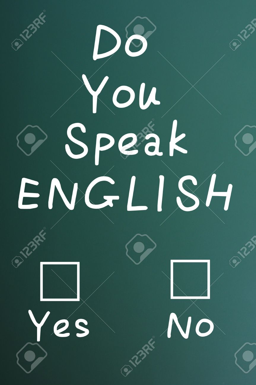 English question . . ..?