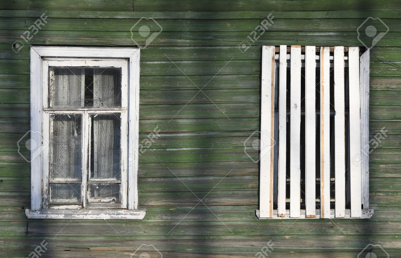 Incredible Broken Windows In An Old Wooden Ruined House Barrack Ruins Download Free Architecture Designs Itiscsunscenecom