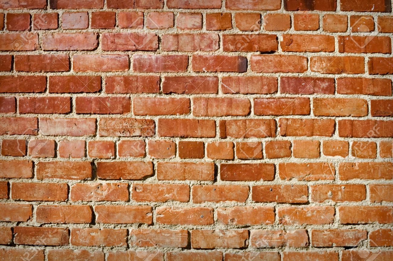 Old Brick Background used for text and wallpaper Stock Photo - 6059602