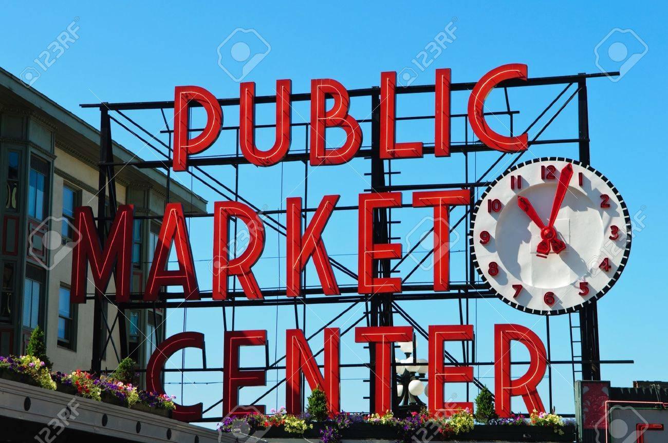 Public Market Center in Seattle Washington - 10391135