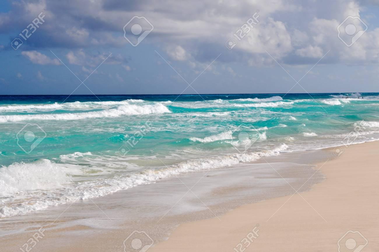 Tropical Beach Background Stock Photo - 11134511