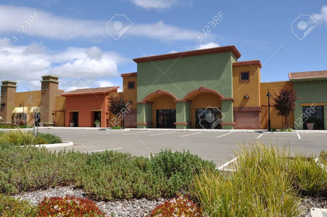 New Shopping Center Stock Photo - 11741271