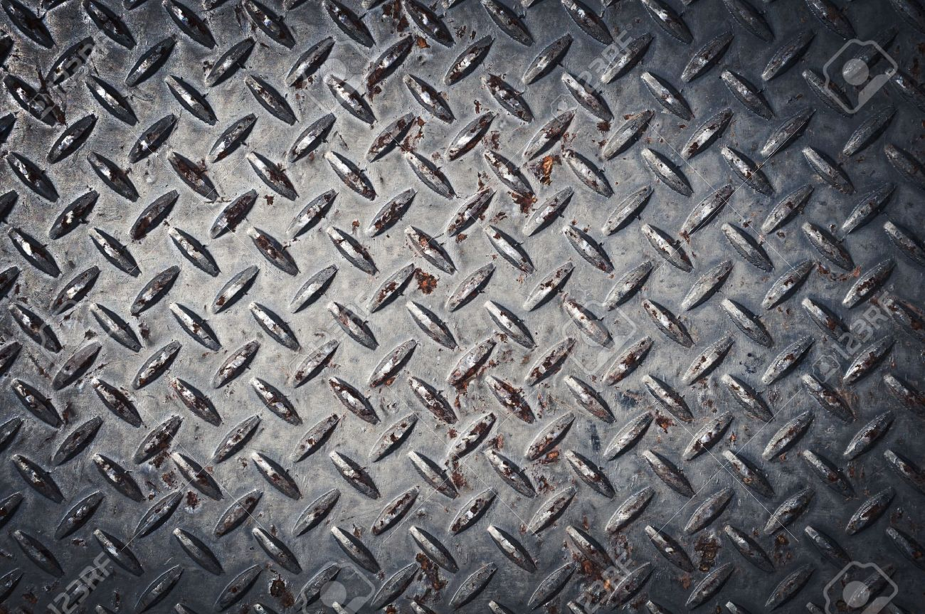 Diamond Plate Background Stock Photo - 12234303