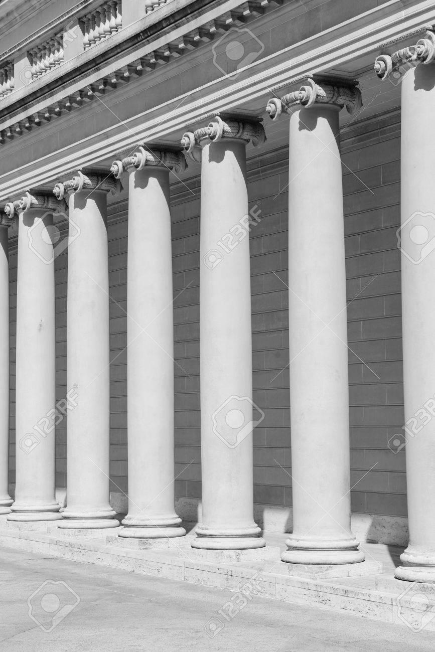 Stone Columns Stock Photo - 16713273