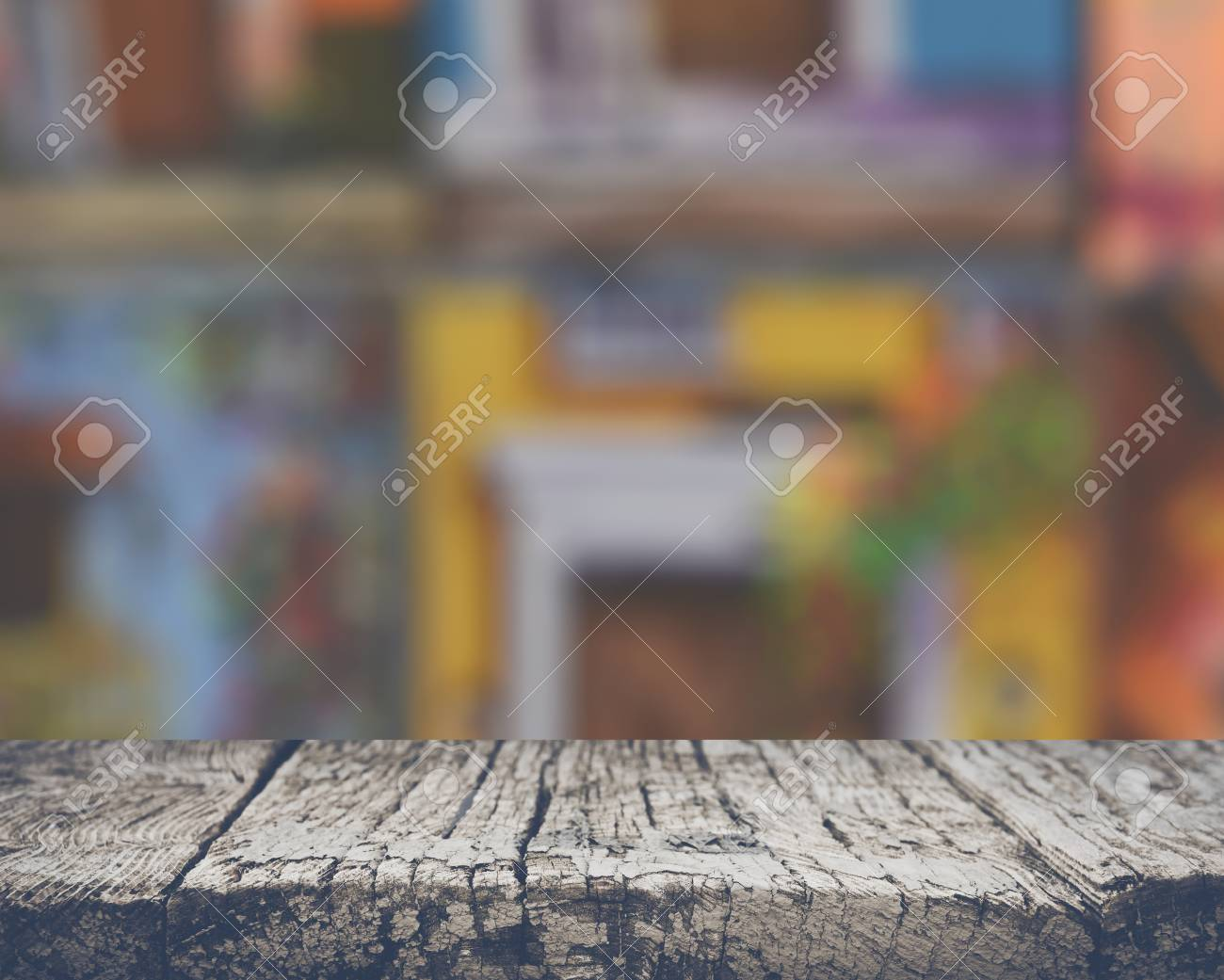 Blurred Colorful Background - 55007878