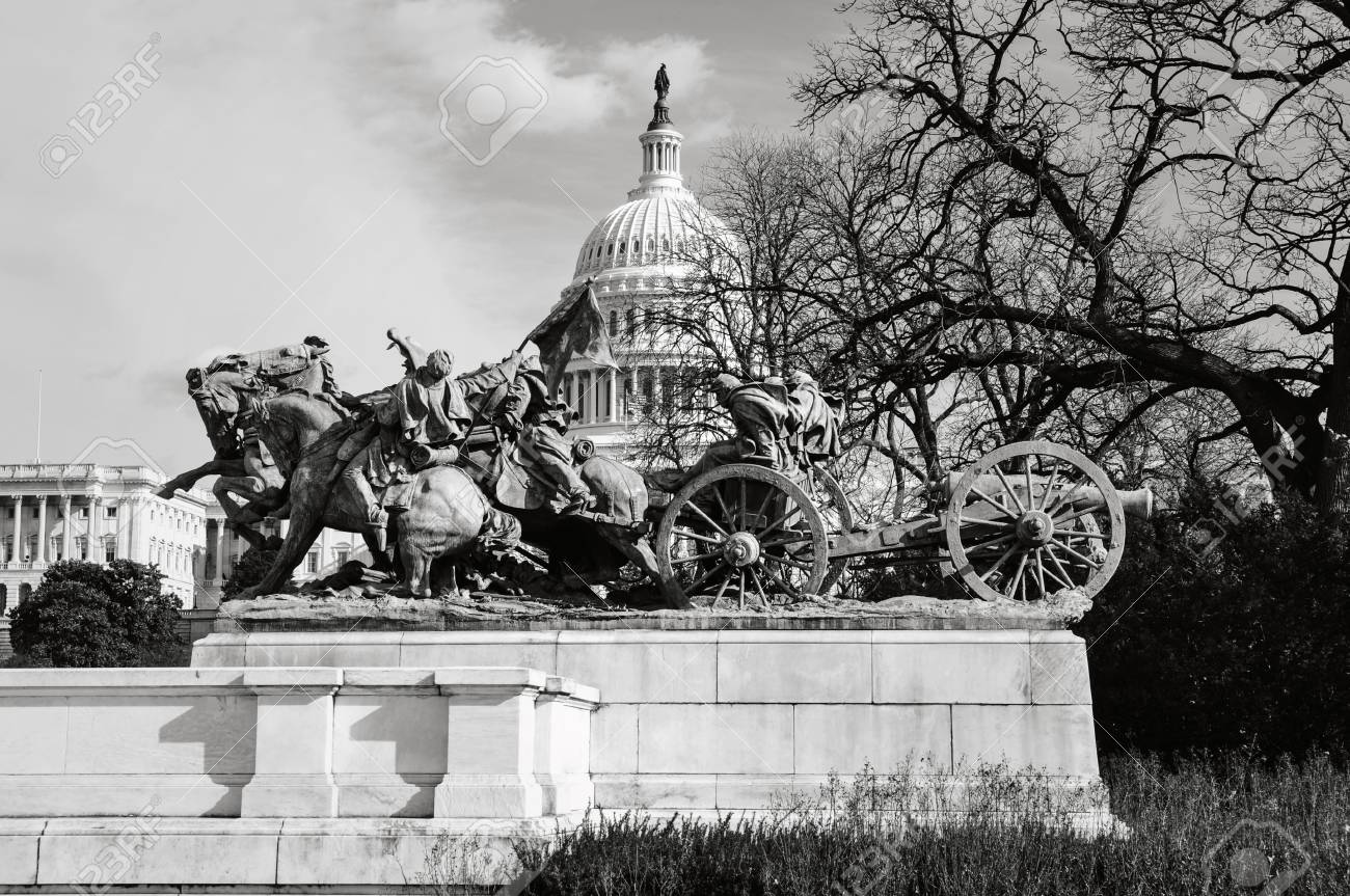 Civil War Memorial Washington DC - 63468262