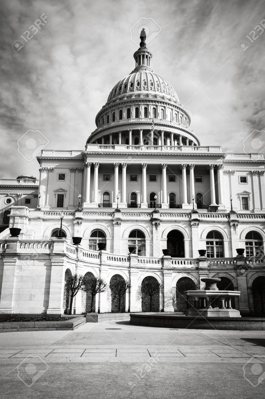 Capitol Hill Building in Washington DC - 63468306