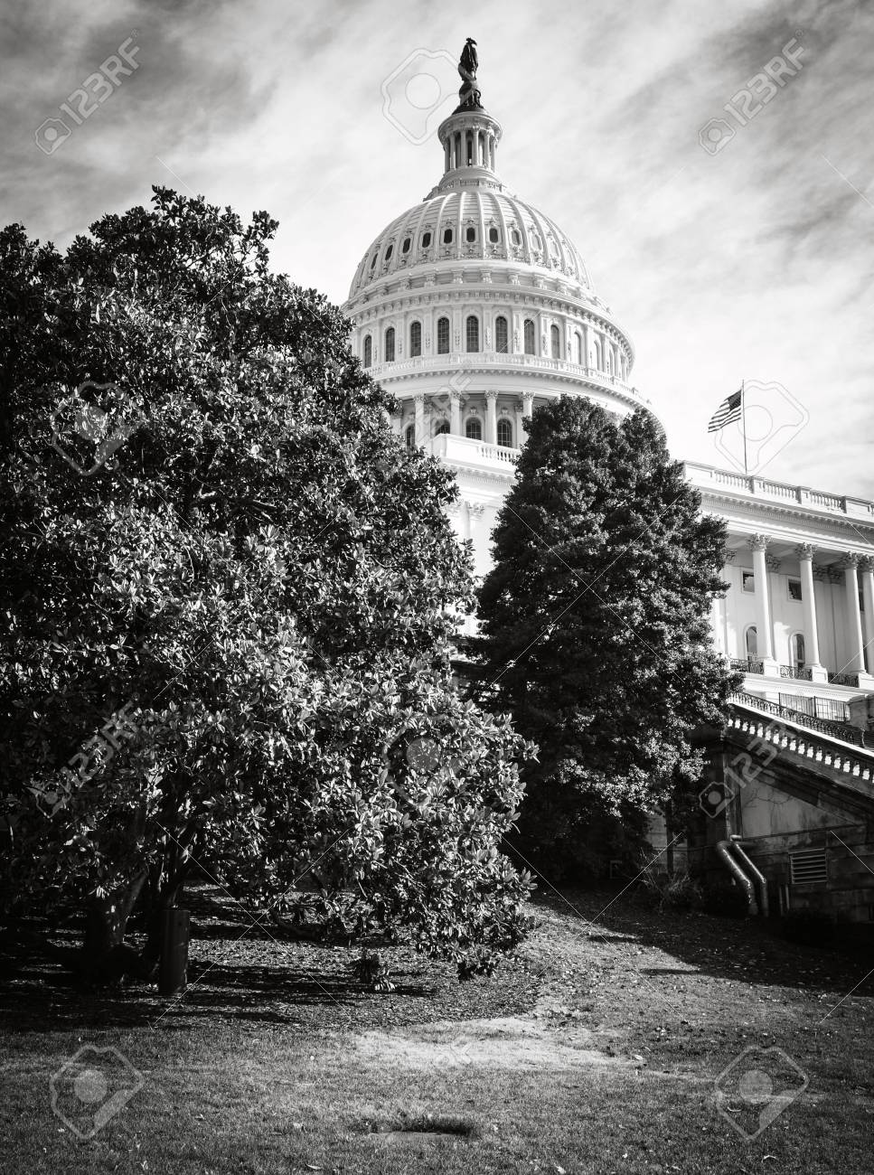 Capitol Hill Building in Washington DC - 63468320