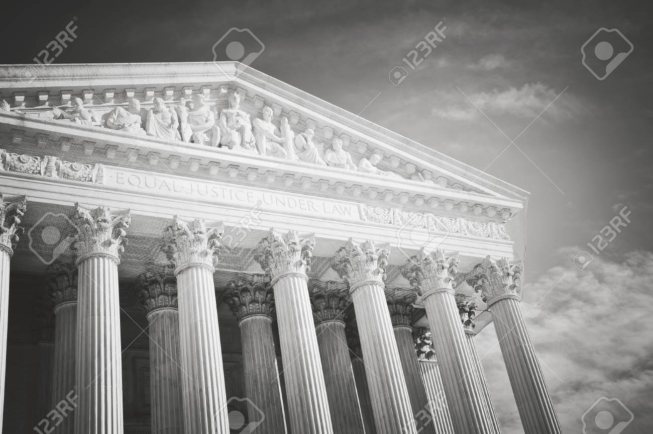 Supreme Court of the United States of America in retro - 63468355