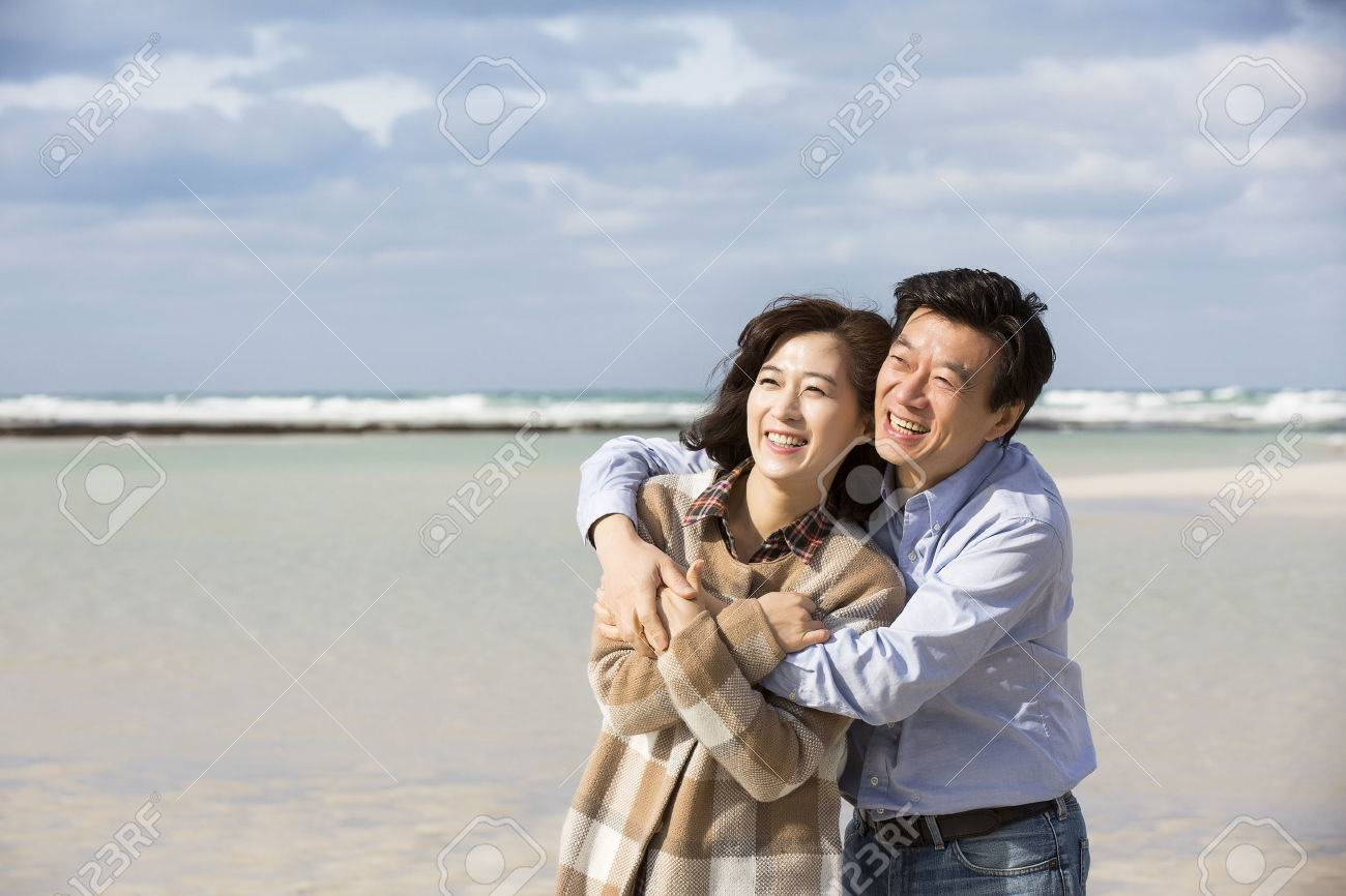 Asian couple adult