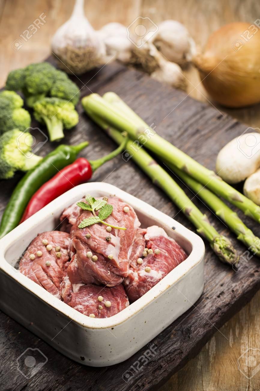 Fresh pork sliced, pork chops for Korean bbq