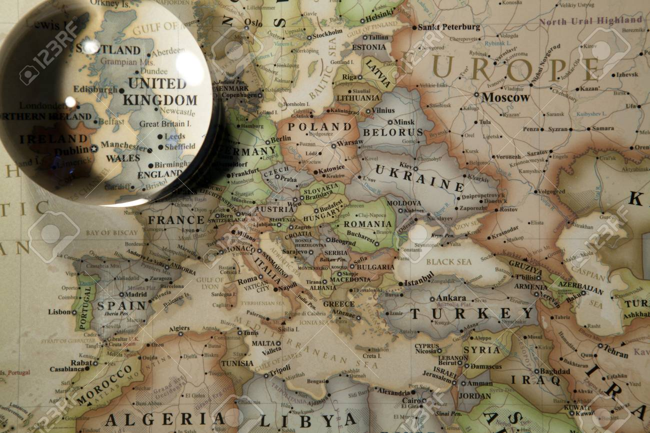 Glass ball placed on a world map stock photo picture and royalty glass ball placed on a world map stock photo 69853463 gumiabroncs Images