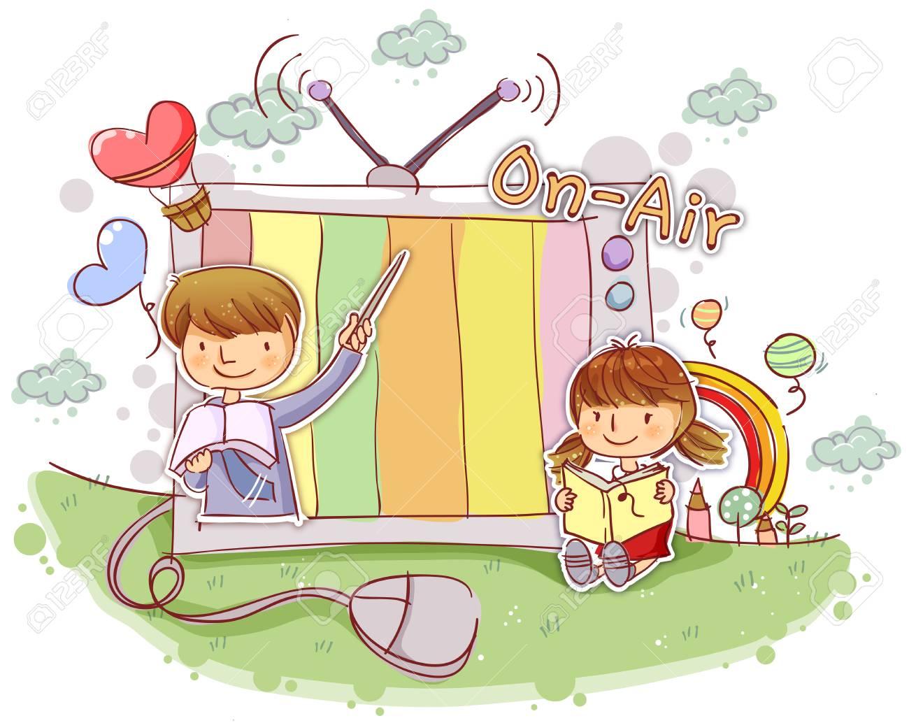 教育学校生活イラスト の写真素材画像素材 Image 72443838