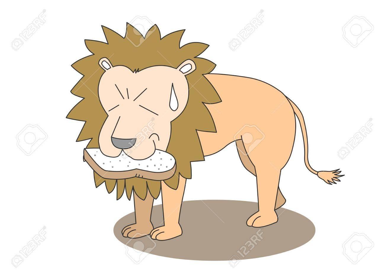 動物文字ベクトル イラスト-ライオン ロイヤリティフリークリップアート