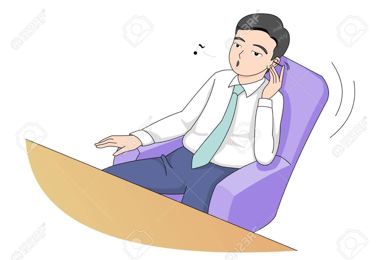 ビジネス男キャラ ベクトル イラストのイラスト素材ベクタ Image