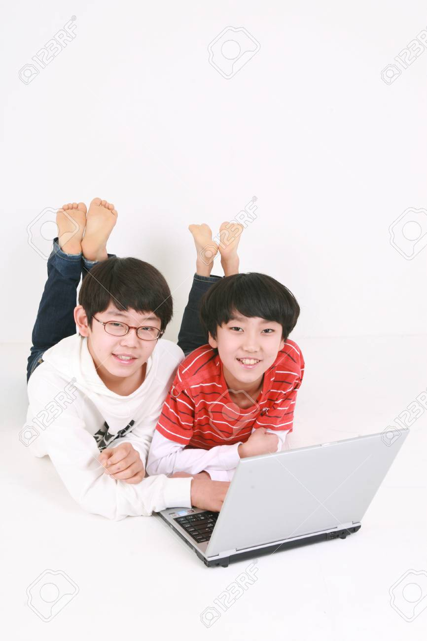 Two asian dudes