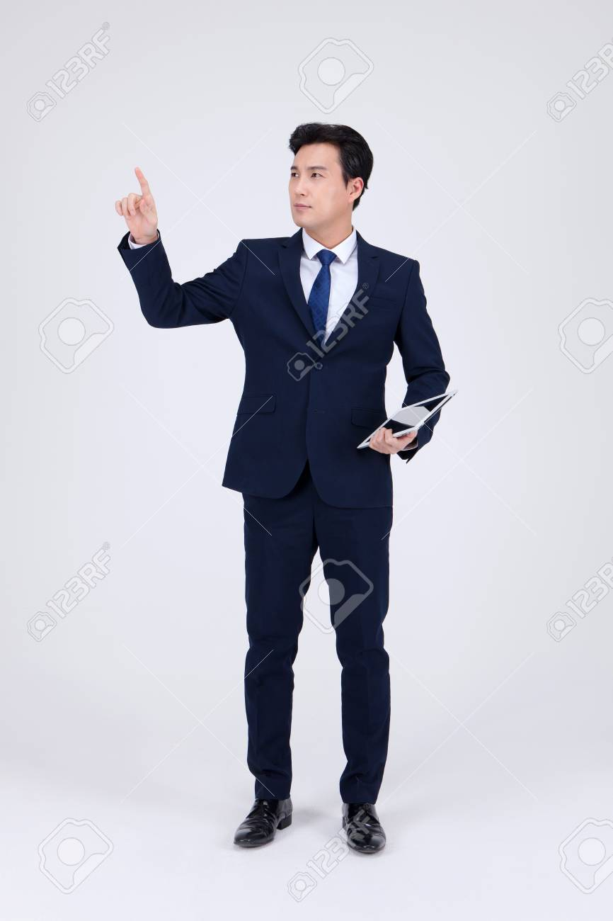 Asian man in suit photo 119