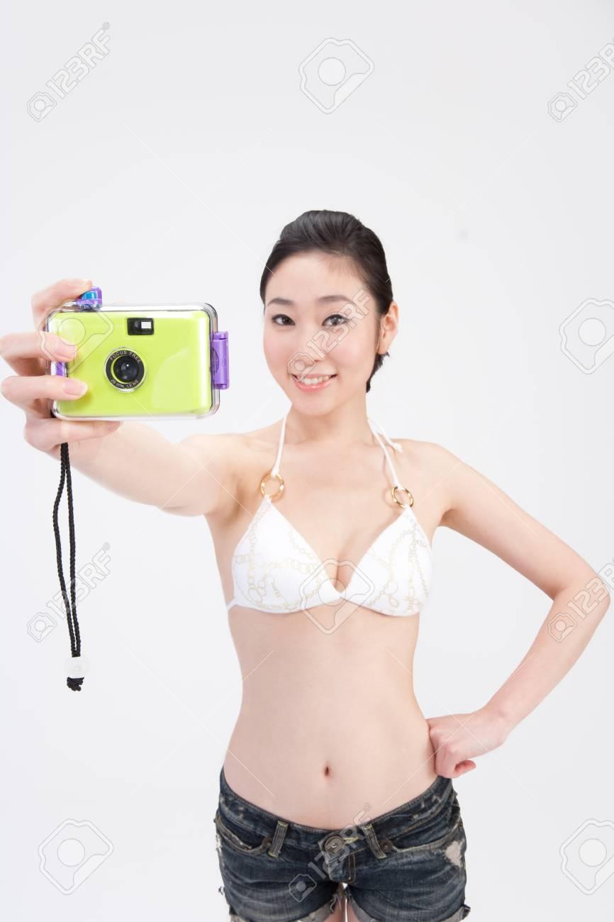 Asian Bikini Selfie