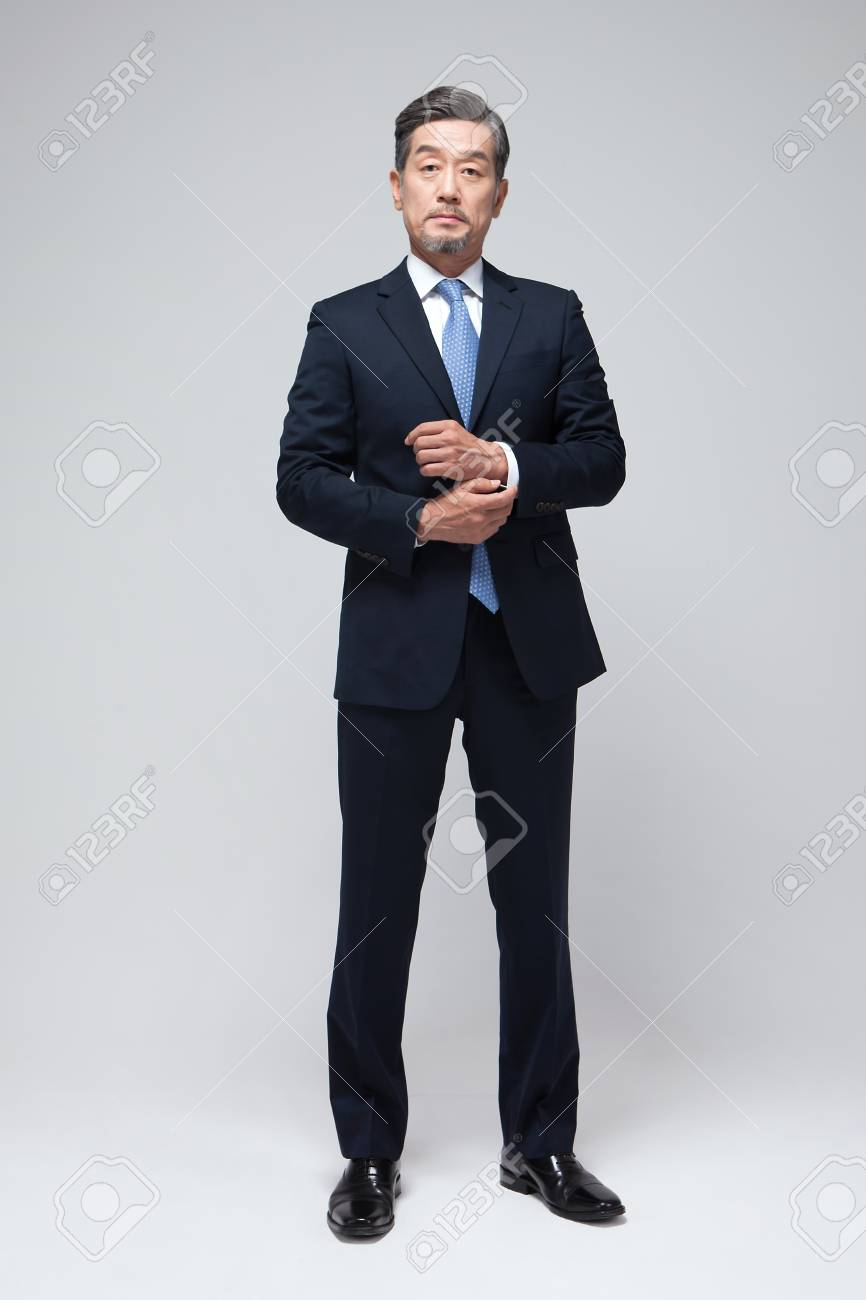 Asian man in suit photo 566