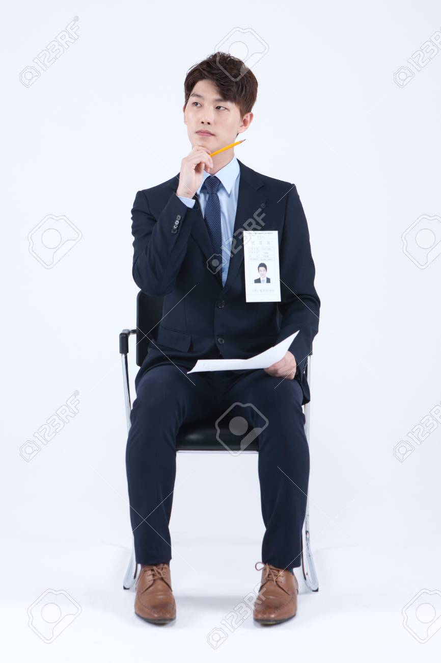 Asian man in suit photo