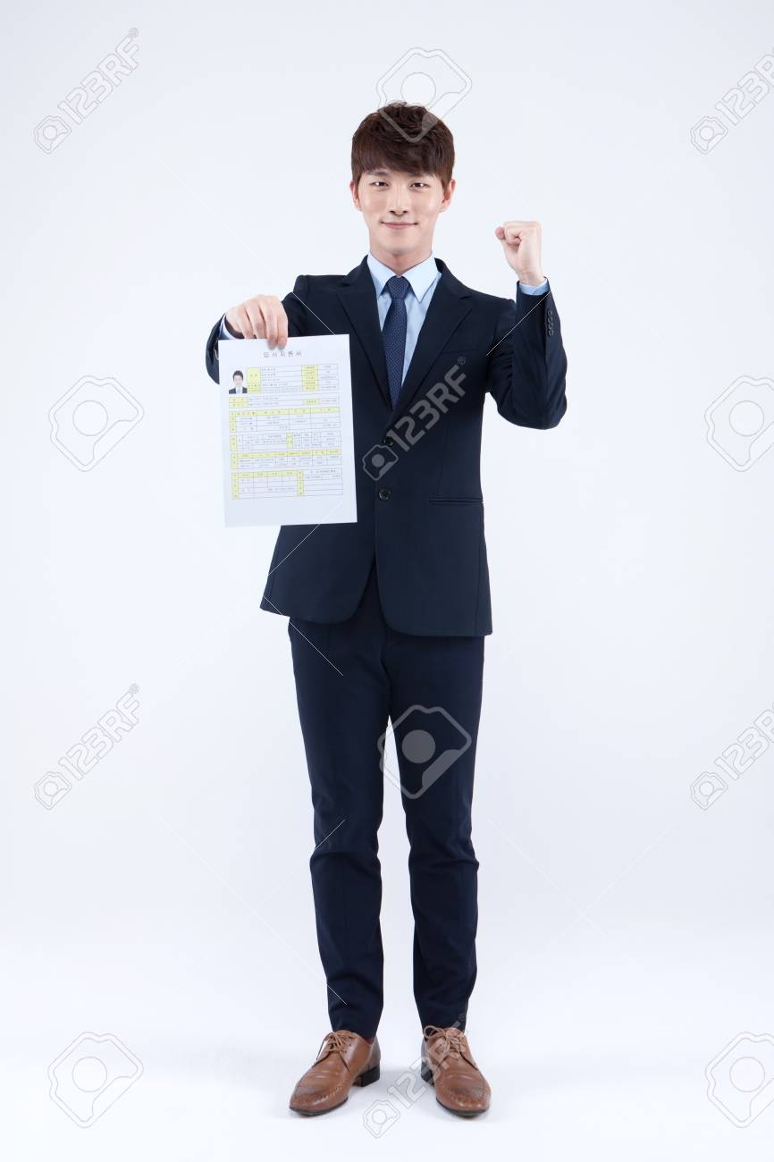 Asian man in suit photo 465