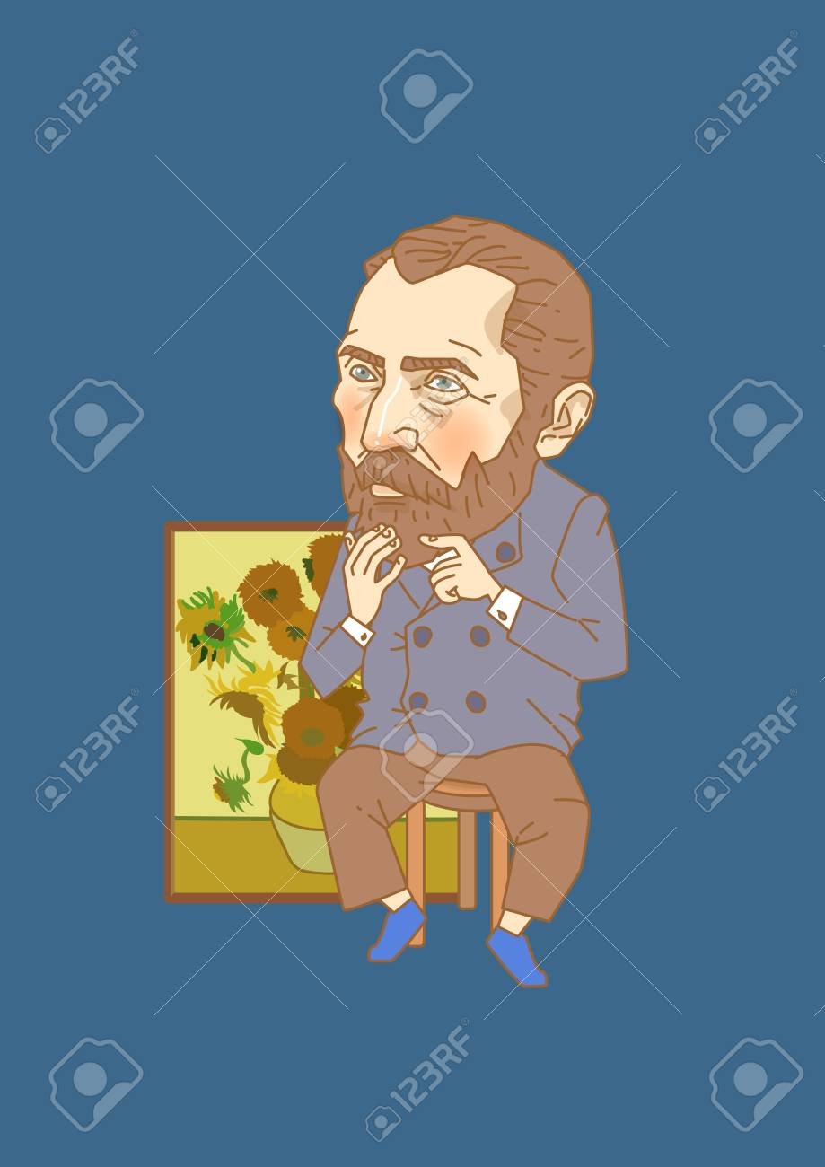 Vector - The great men in history. Famous historical figures caricature isolated in white. 117 - 96675079