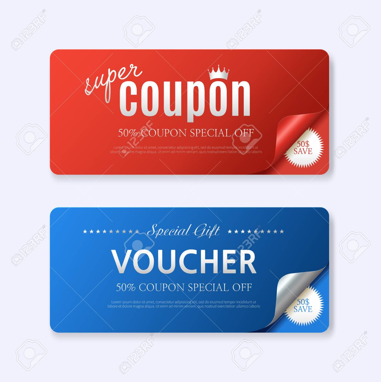 discount voucher design template gift voucher certificate coupon