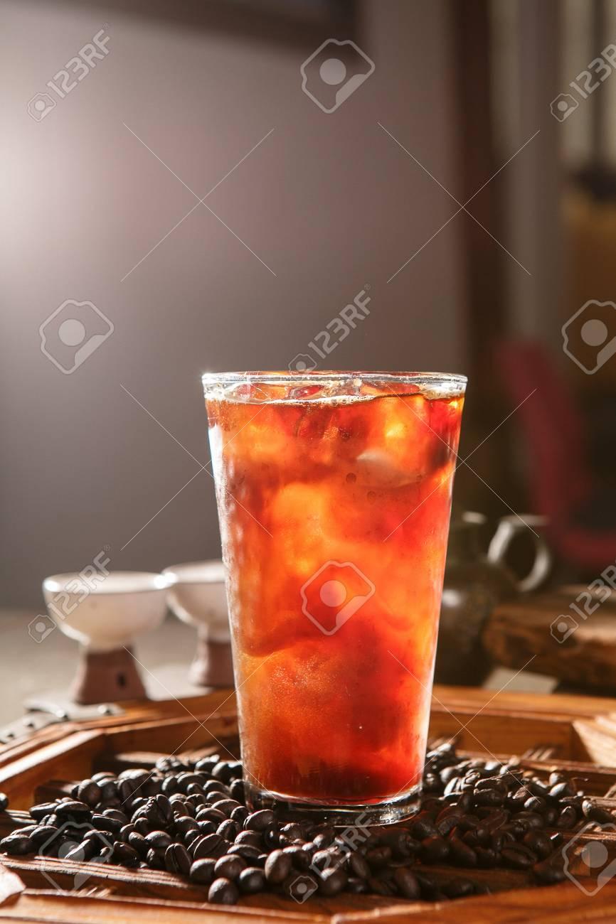 Iced coffee - 108254978