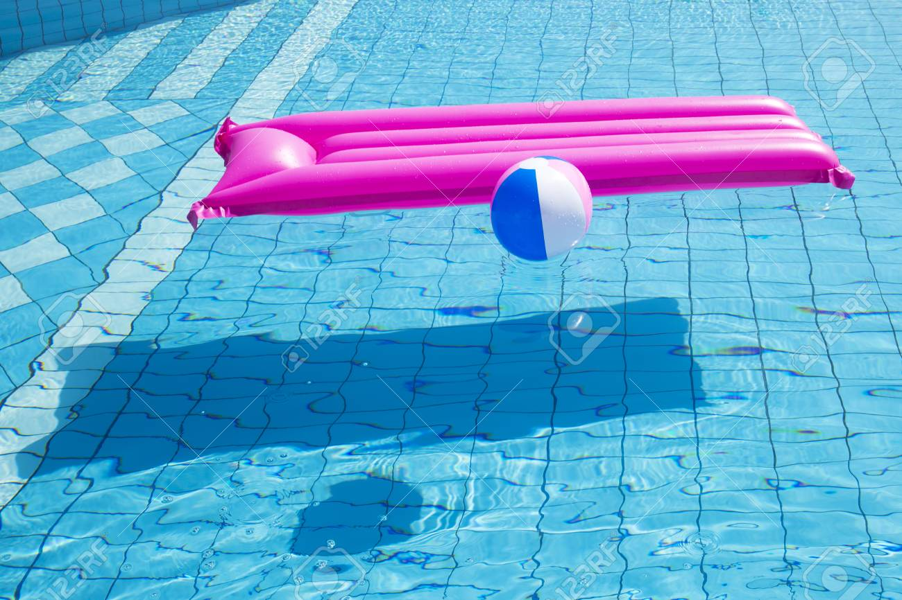 Summer holiday concept photo. vacation items and beach accessories in swimming pool or yellow background. 152 - 114678300