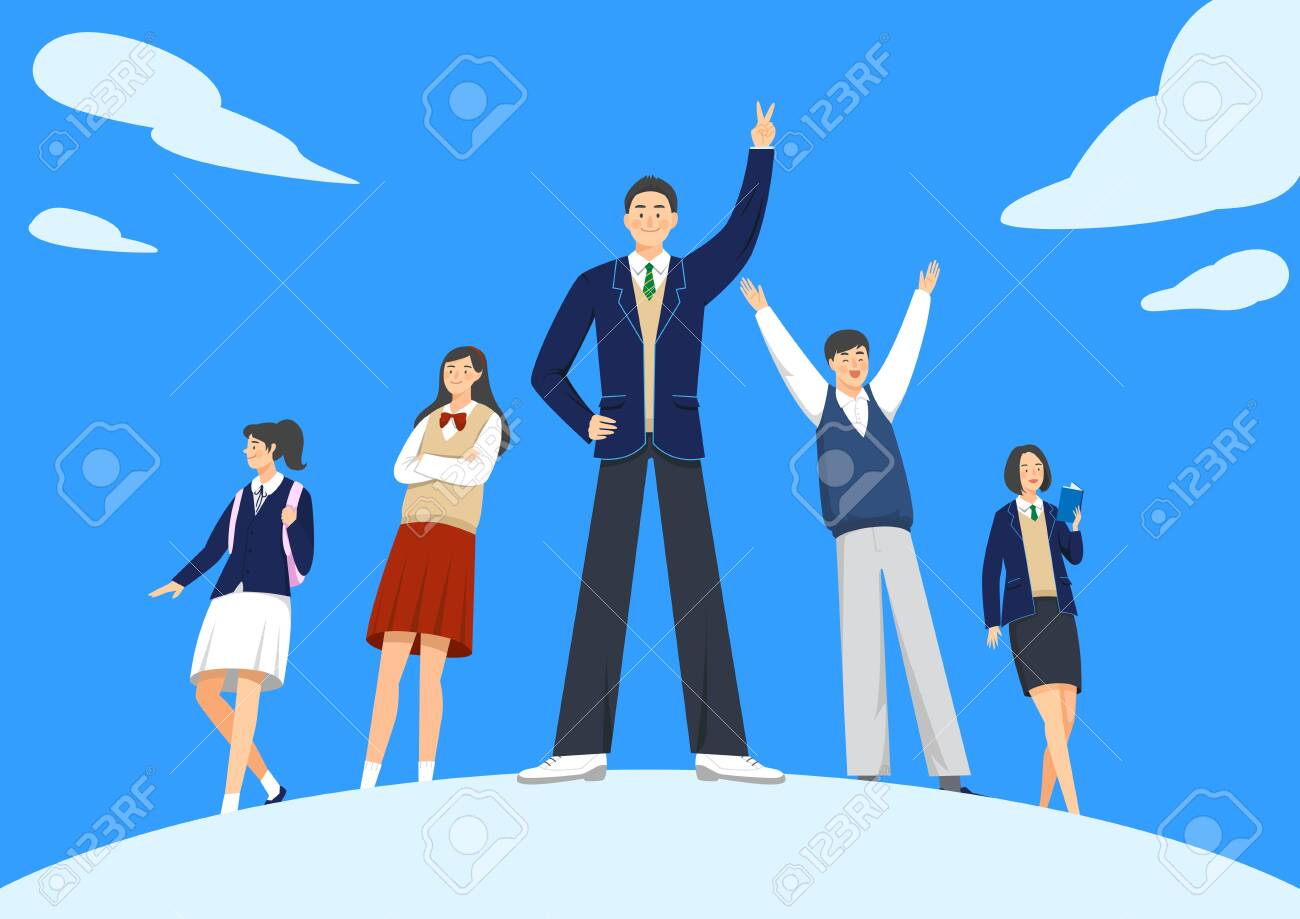 Set of variety occupation profession people concept illustration - 128414650