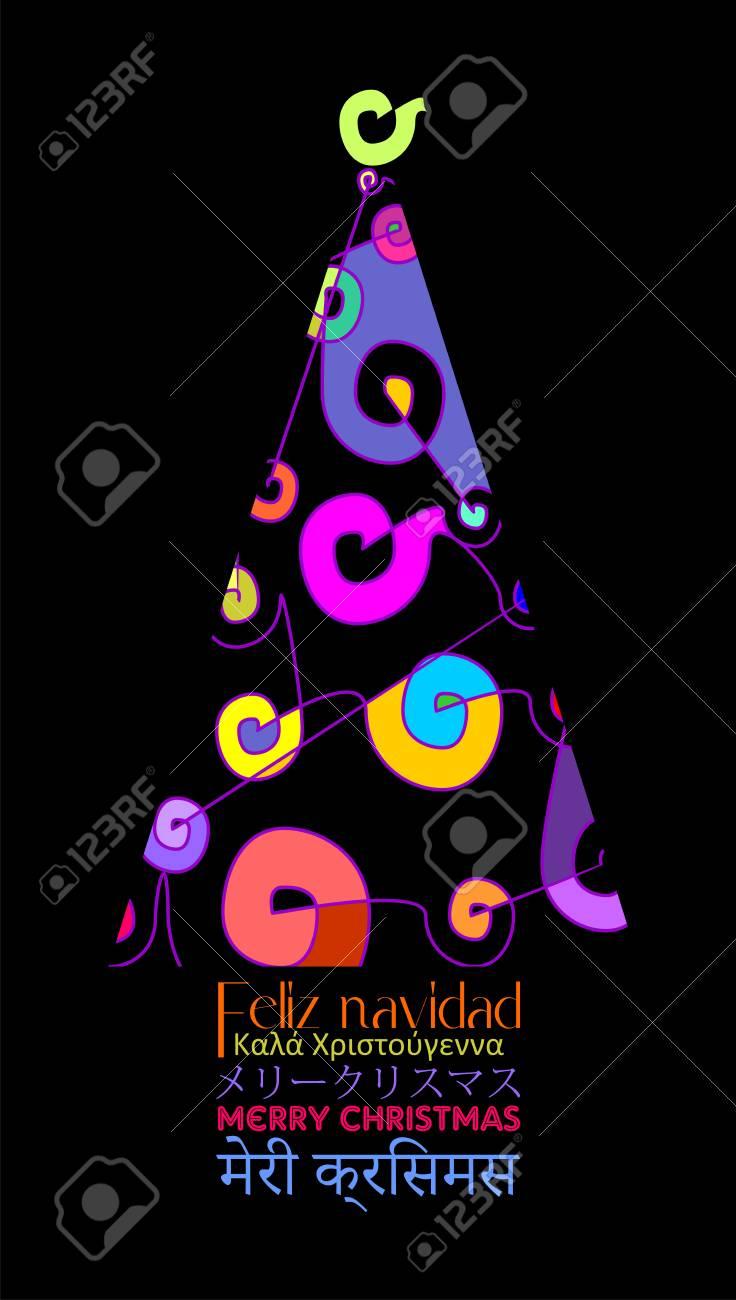 Unterschiedlicher Weihnachtsbaum, Der Mit Weihnachtsbaum In Einigen ...