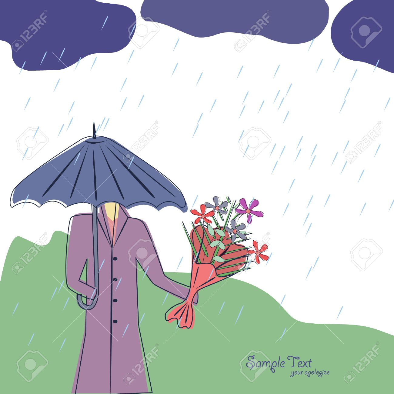Tarjeta De Felicitación Para Sus Disculpas A Tu Amor Ilustraciones