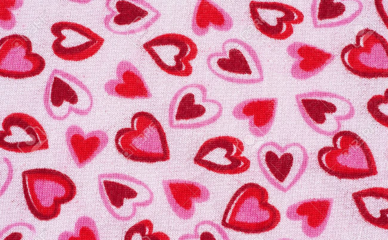 Valentine Print Background Stock Photo - 7023933