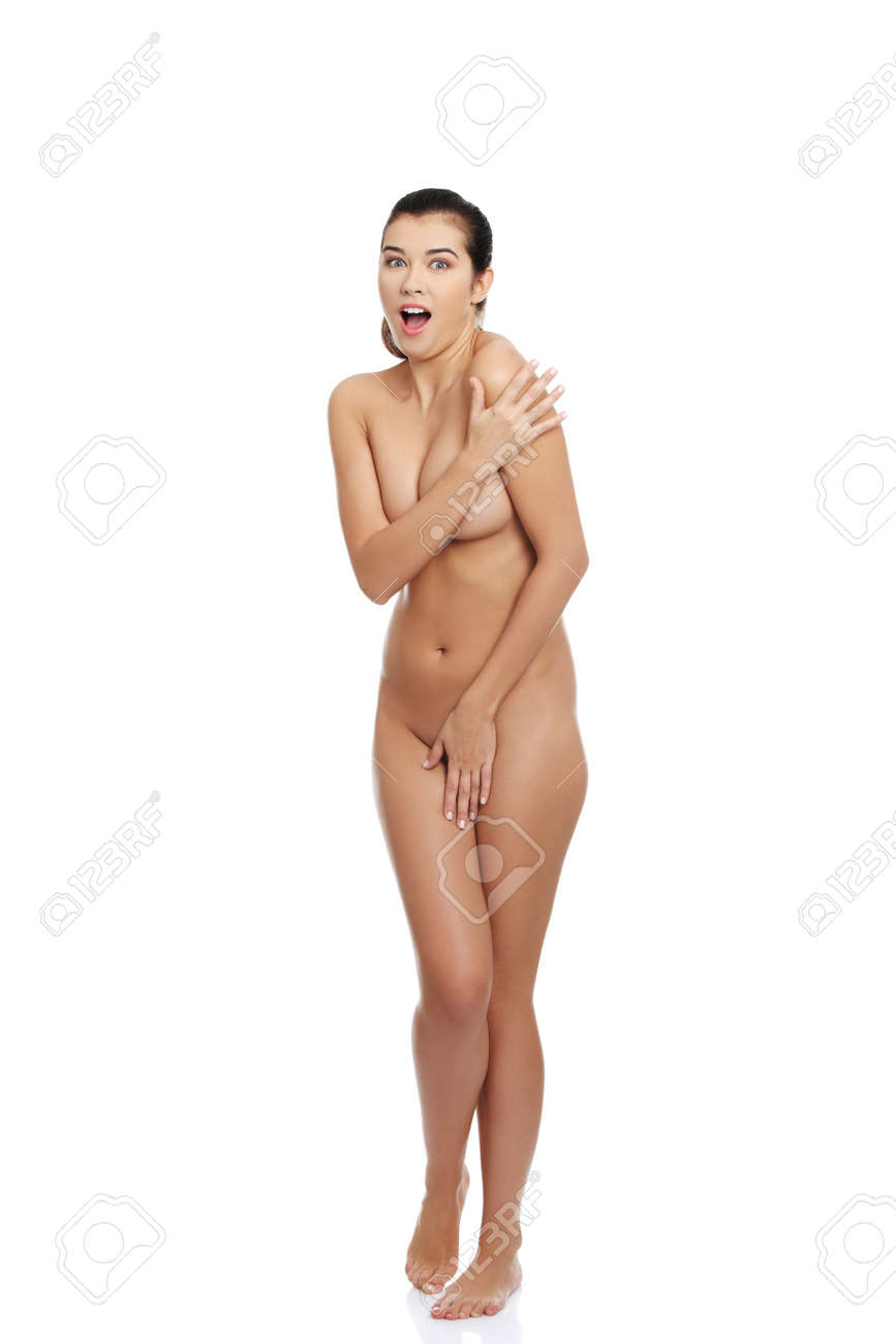 Hot girl covering naked body with hands Scared Woman Screaming And Covering Her With Hands Stock Photo Picture And Royalty Free Image Image 16677657