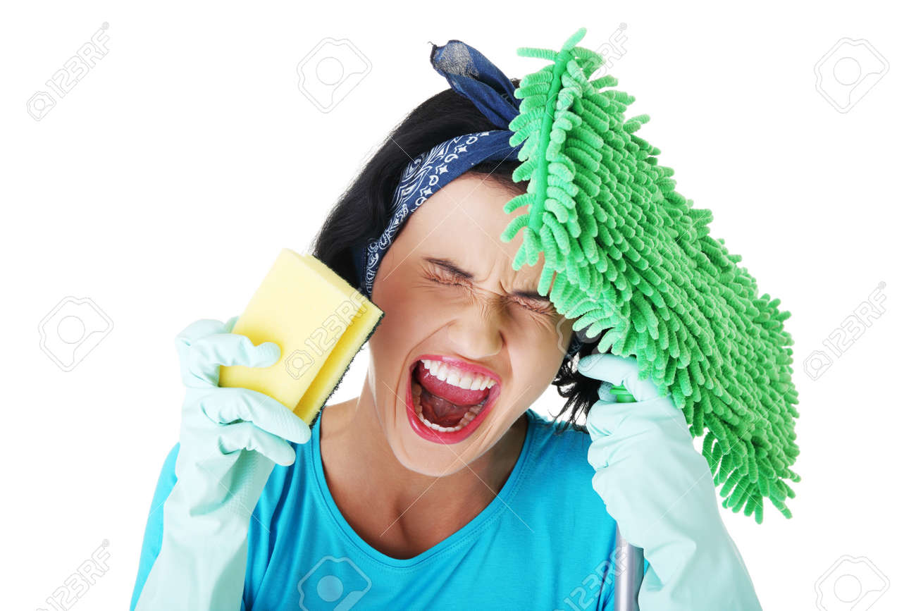 Уборщица дала за деньги 26 фотография
