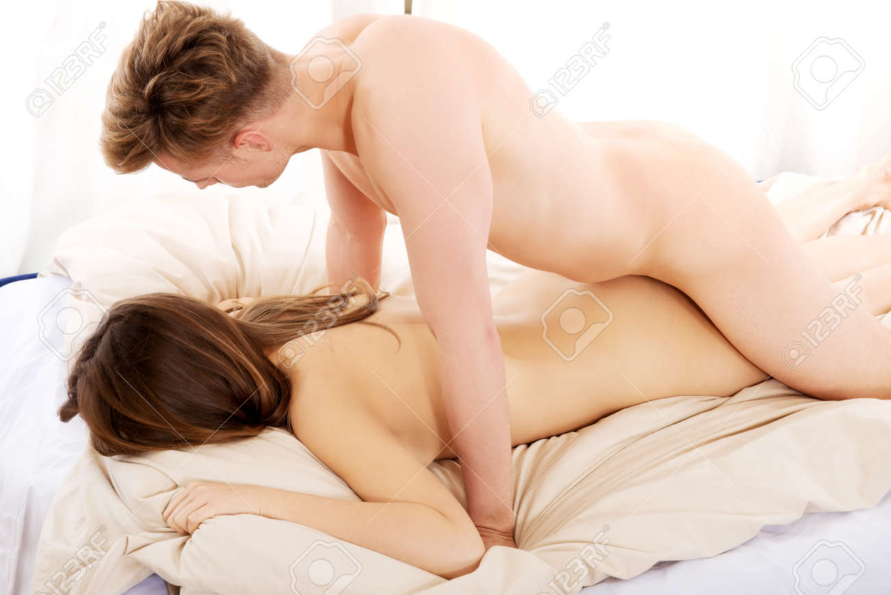 Couple having sex in the bedroom