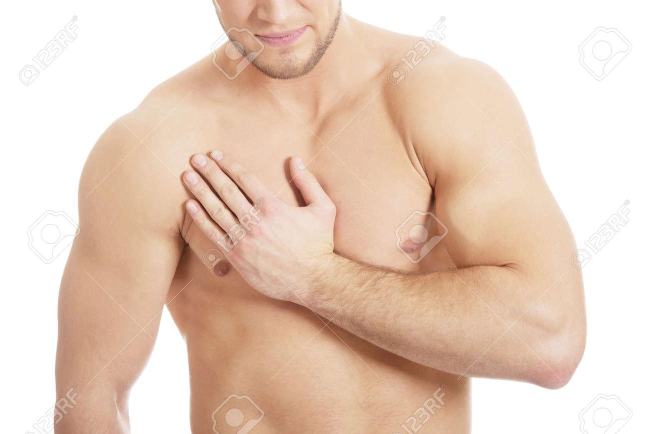 dolor pecho derecho hombre