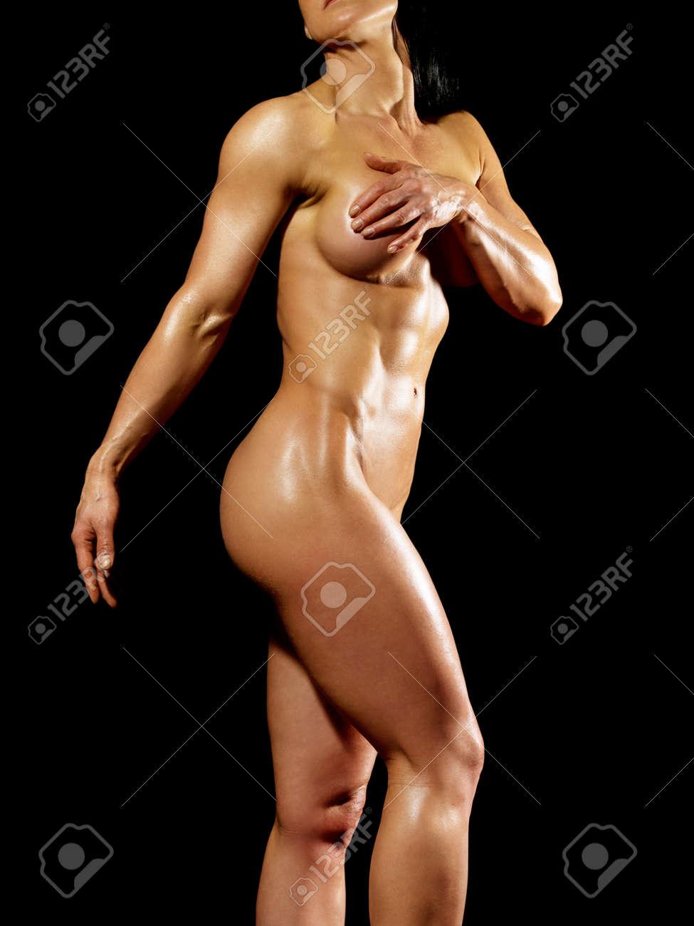 Mit nackt frauen muskeln Frau mit