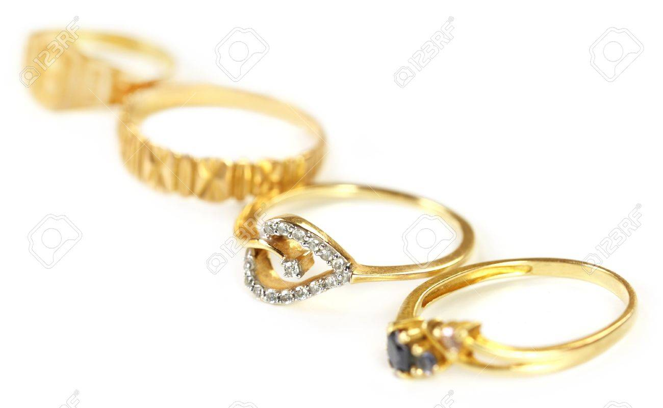 Wedding Gold Jewelry For Indian Bride Stock Photo Picture And Royalty Free Image Image 15777902